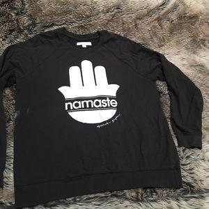 Spiritual Gangster Namaste Black Sweatshirt!!!🙏